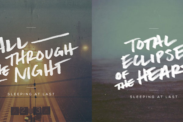 Sleeping At Last Album Covers + Unsplash
